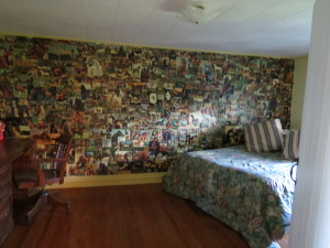 collage in equestrian room